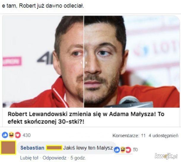 Lewandowski się starzeje