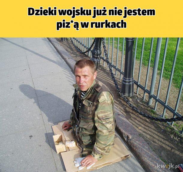 Wojsko zrobi z ciebie faceta