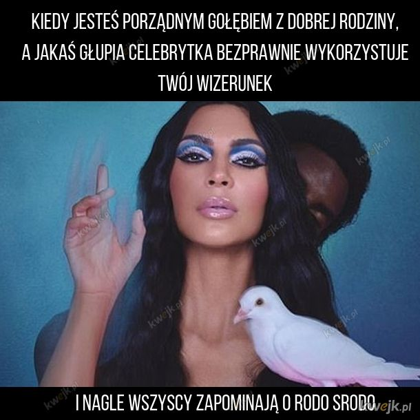 Kim Kardashian ma ptaka