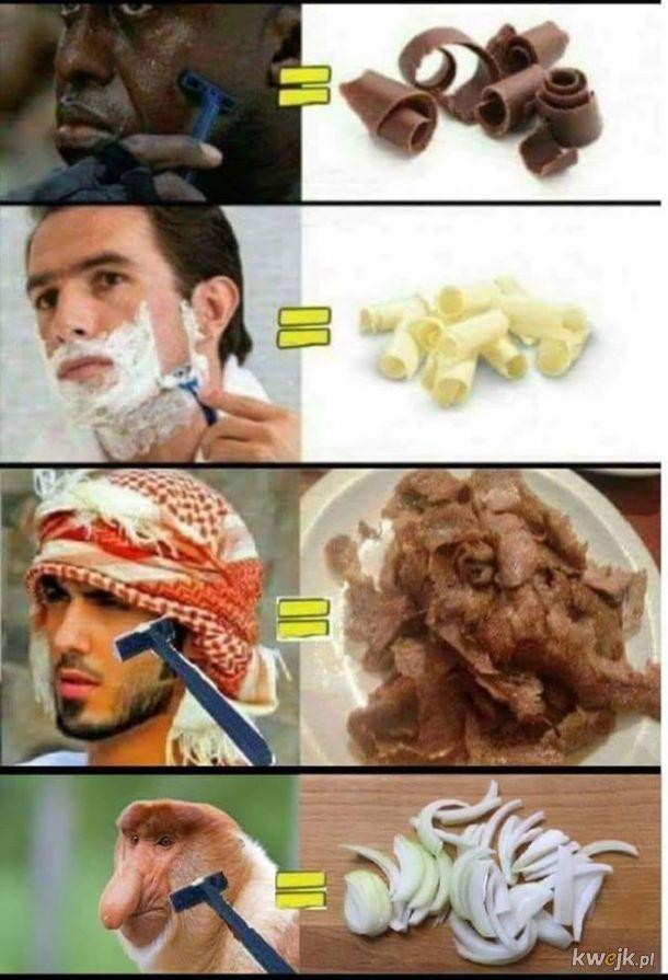 Co zostaje po goleniu się