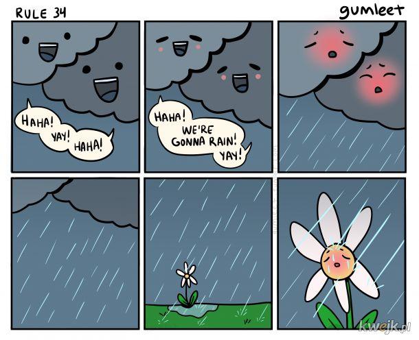 Tym jest właśnie deszcz