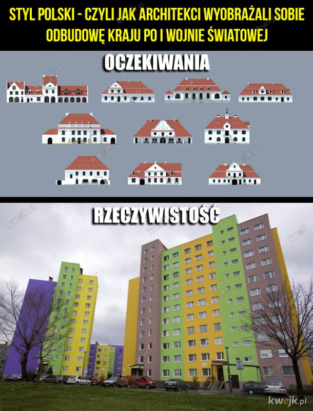 Styl polski - oczekiwania vs rzeczywistość