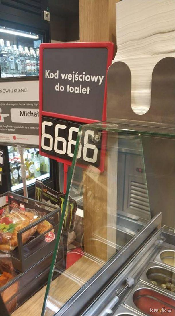 Szatański kod wejściowy