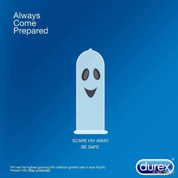 Halloweenowa reklama Durexa