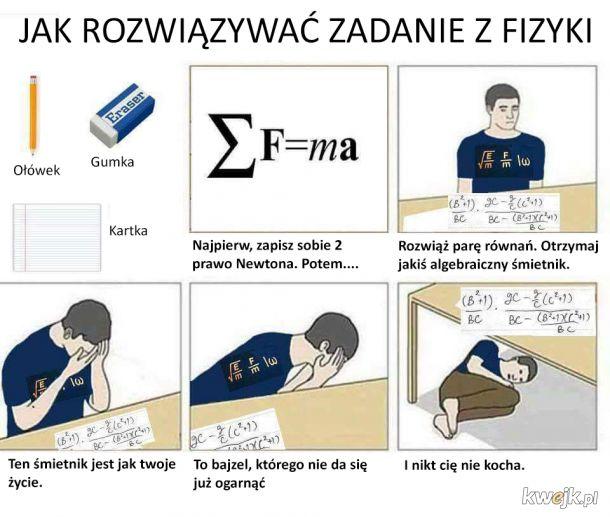 Jak rozwiązywać zadania z fizyki