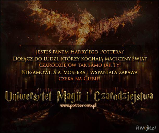 Uniwersytet Magii i Czarodziejstwa | Zapraszamy!