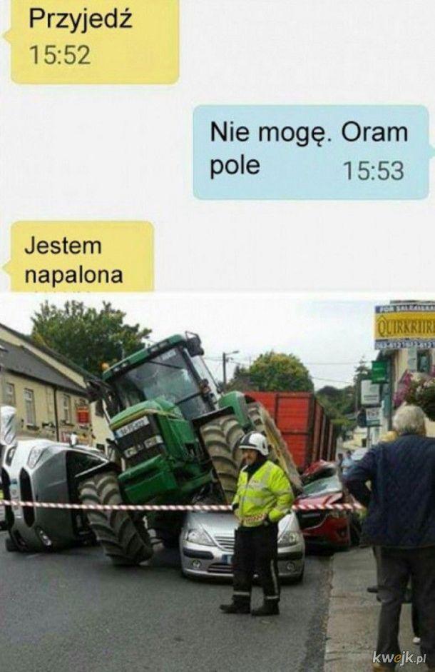 Pole, pole...