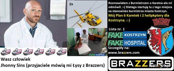 6 Karetek i 2 helikoptery dla Kostrzyna