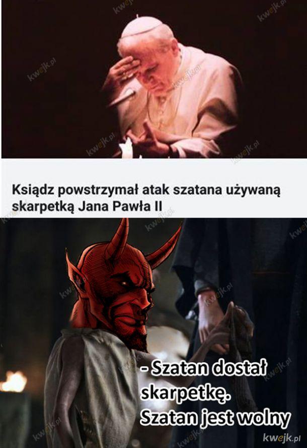 Szatan jest wolnym diabłem