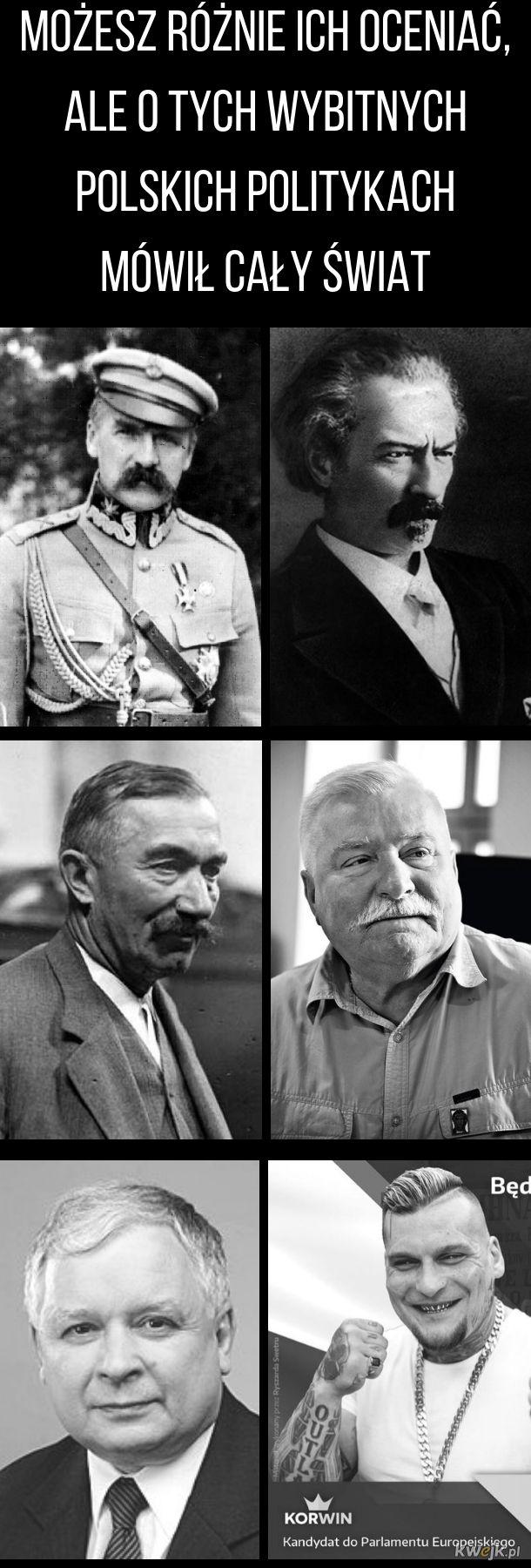 Wybitni polscy politycy