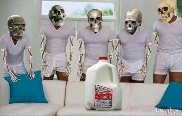 Mleko to źródło wapnia