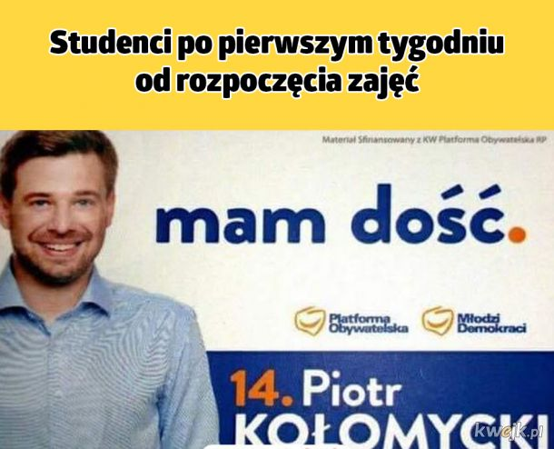 Typowy student