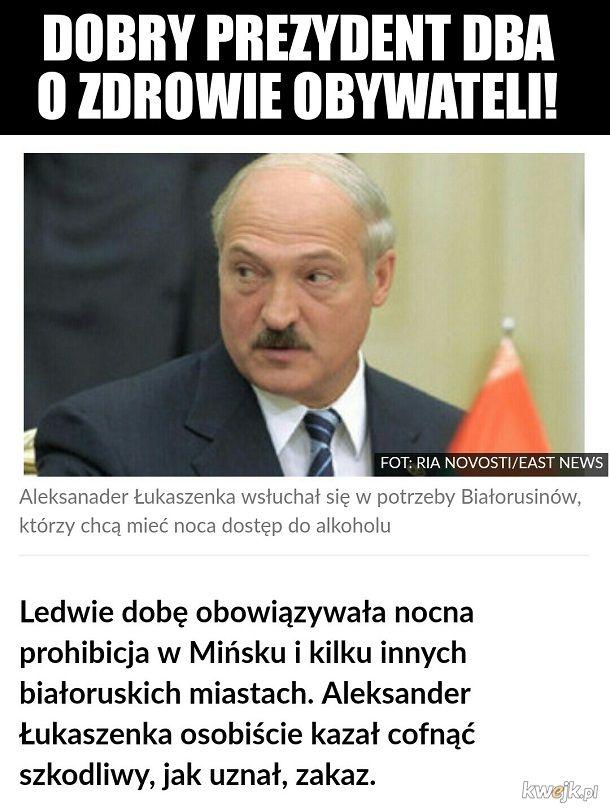 Dobry ziomek Łukaszenka