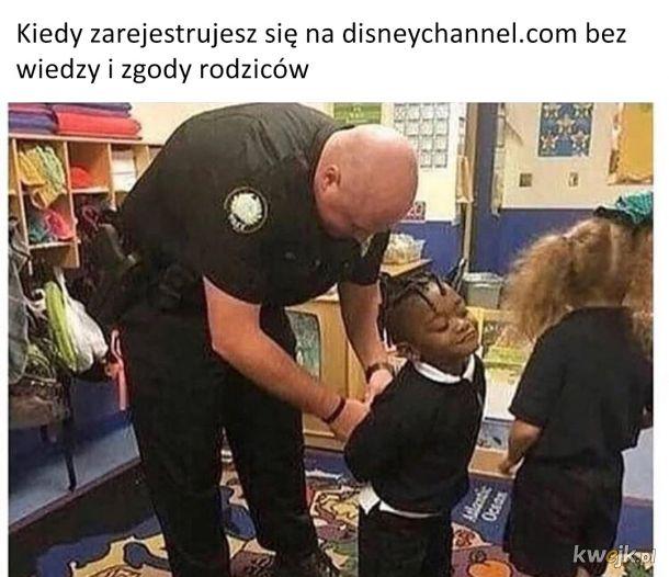 Oczywiście aresztują czarnego dzieciaka