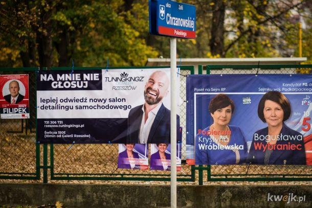 Ciekawa reklama wyborcza - w Rzeszowie to możliwe :D