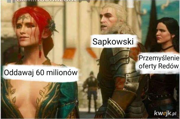 Wybór Sapkowskiego