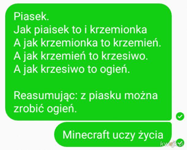 Minecraft życiem