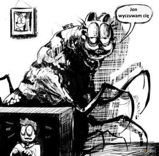 Straszny Garfield