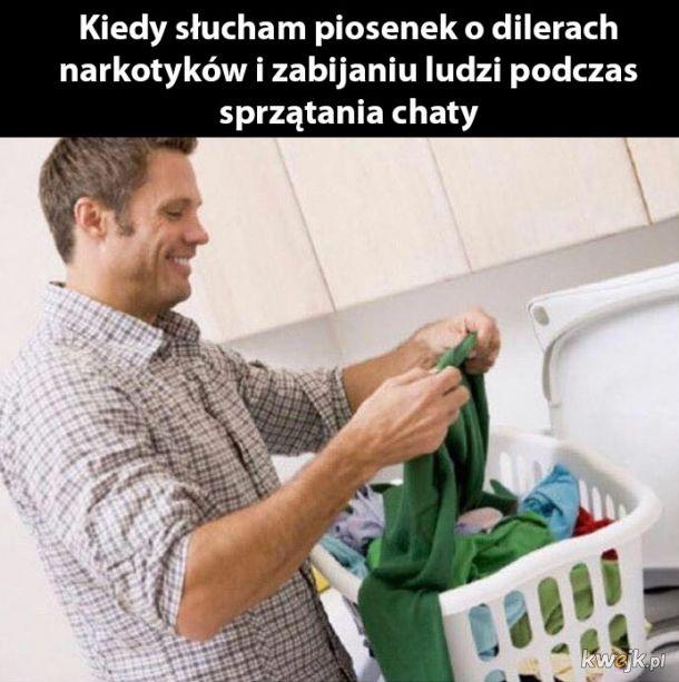 Od razu lepiej się sprząta