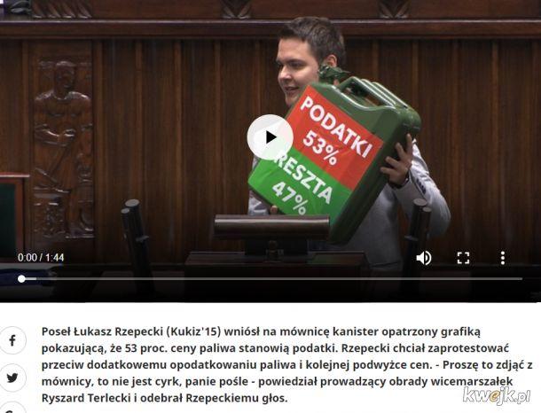 Wicekretyn Sejmu: Jak śmiesz kmiocie pokazywać niewygodną prawdę, won z mównicy!