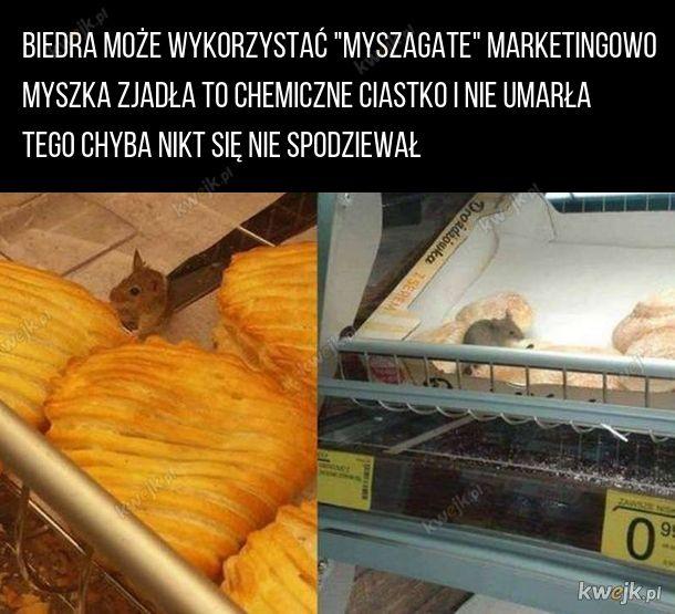 """""""Myszagate"""" w Biedrze"""