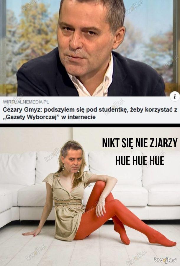 Piekna studentka - Cezary Gmyz