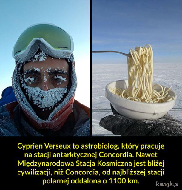 Jak wygląda gotowanie na Antarktydzie przy -70°C