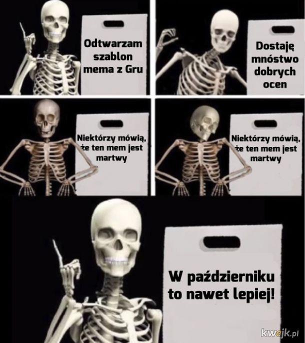 Martwe memy sa teraz na czasie