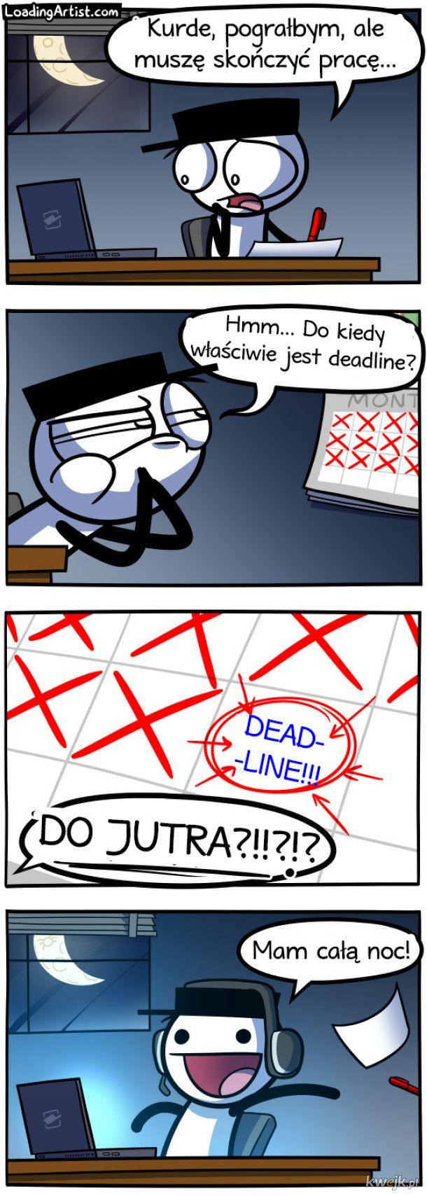 Komiksy Loading Artist dla fanów nieco abstrakcyjnego humoru
