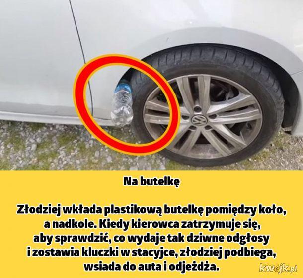 Sztuczki polskich złodziei samochodów. Lepiej na nie uważaj