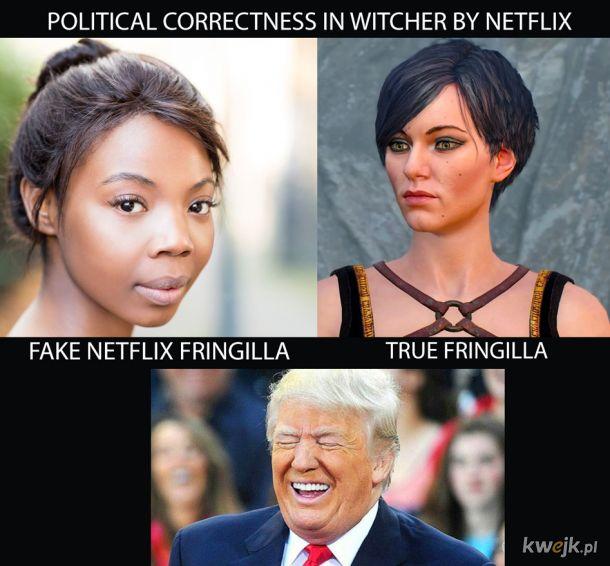 Poprawność polityczna wg. Netflixa