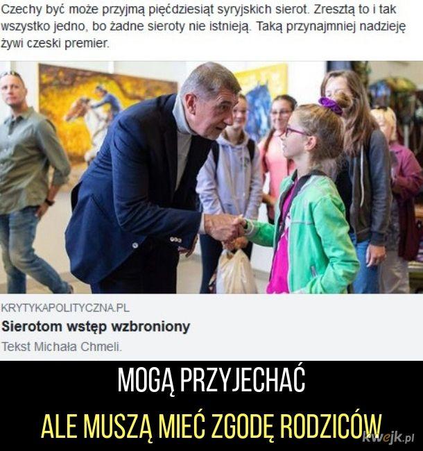 Sieroty w Czechach