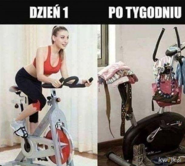 Treningi w domu