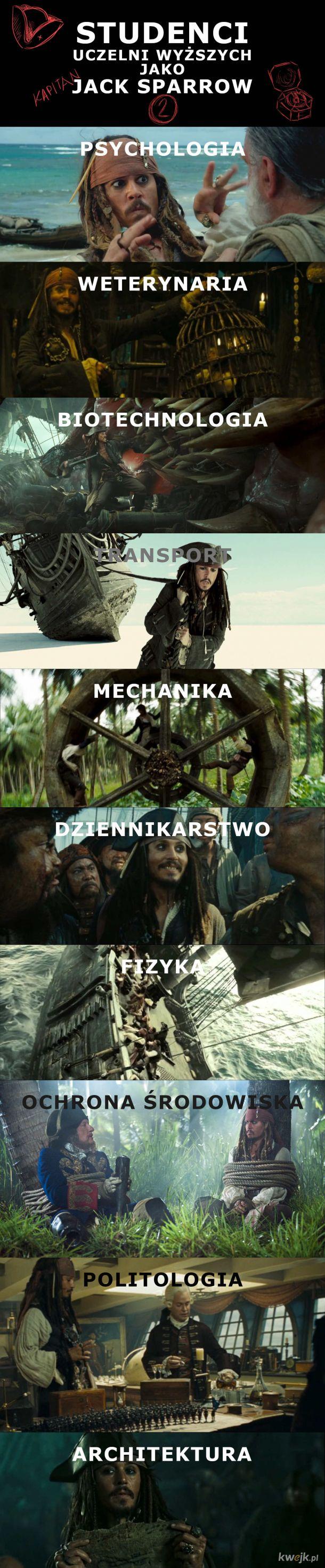 Studenci jako Jack Sparrow 2