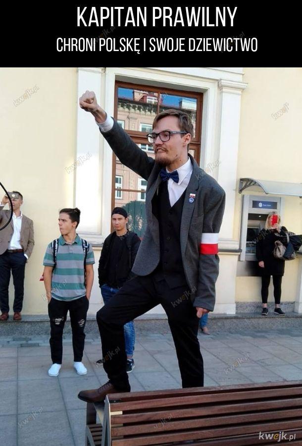 Nowy prawdziwie polski superbohater!
