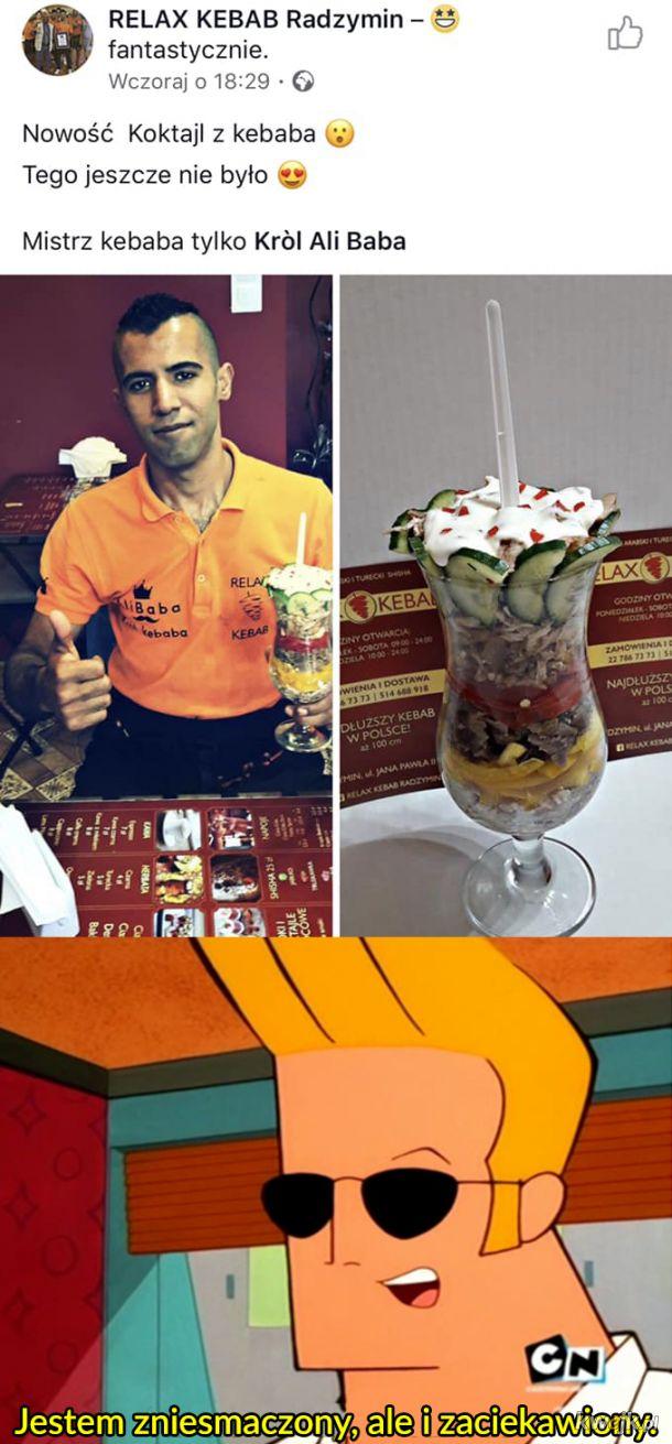 Ali Baba i koktajl z kebaba