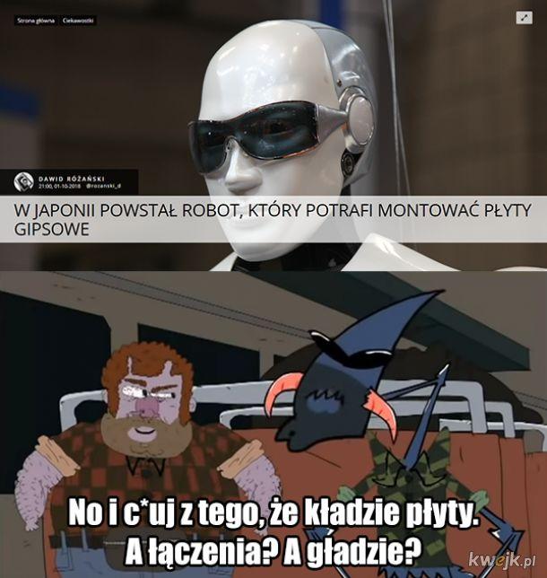 Robot budowlaniec