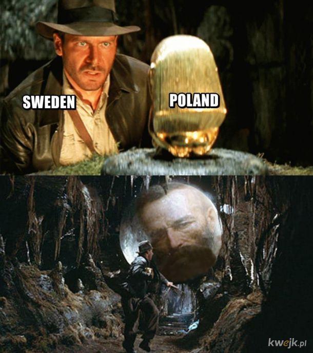 Szwecja vs Polska