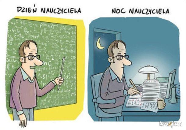 Memy z okazji Dnia Nauczyciela