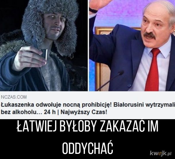 Prohibicja na Białorusi