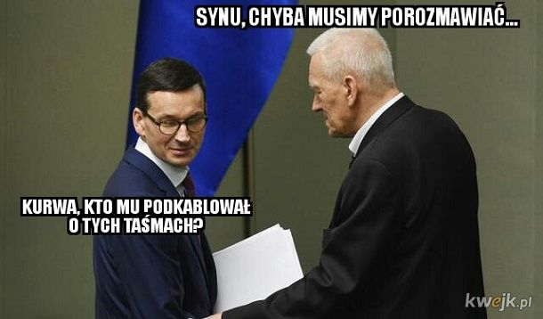Nagrania Morawieckiego