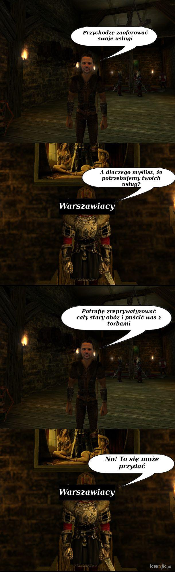 Przyjęcie do Starego Obozu