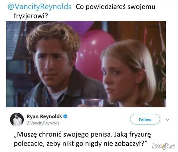 Ryan Reynolds ma dystans do siebie