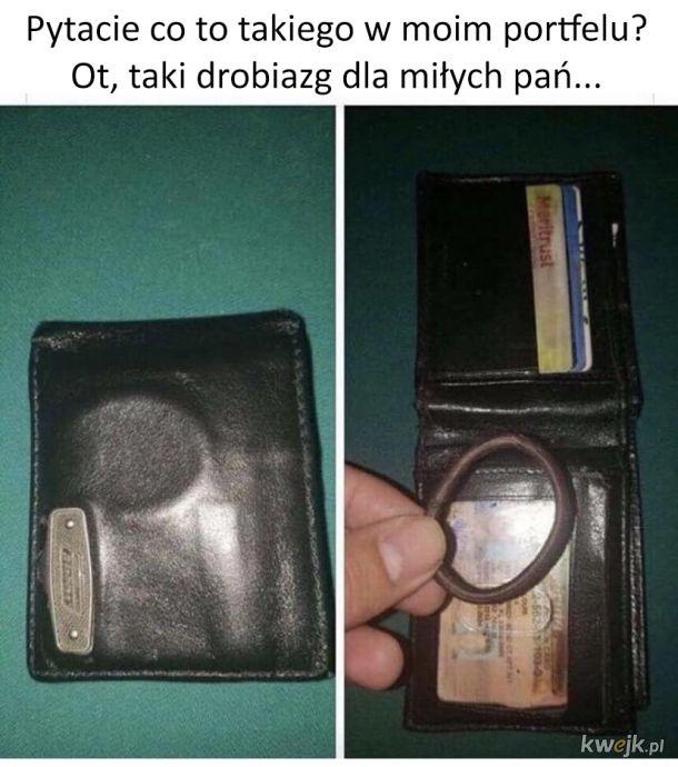 Co tam masz w portfelu?