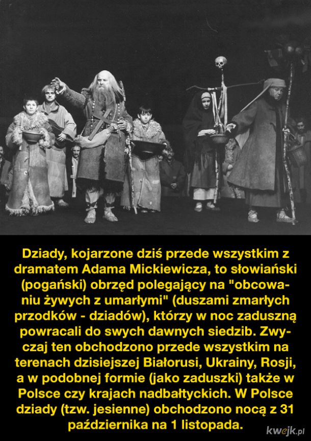 O słowiańskich dziadach