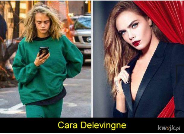 Modelki na co dzień nie są aż tak zjawiskowe