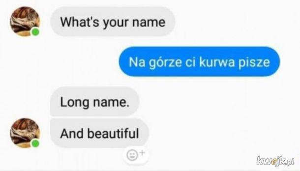 Jakie twe imię jest