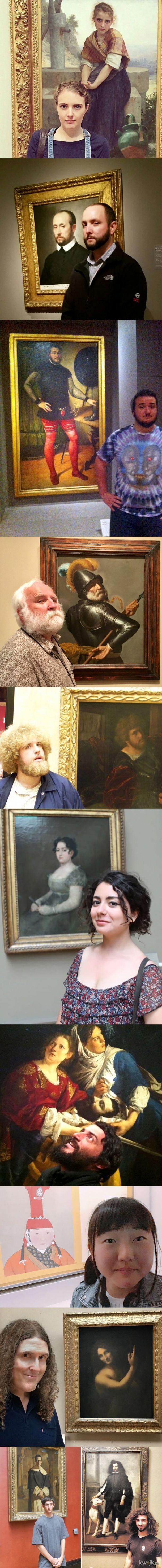 Ludzie, którzy przypadkowo znaleźli swoje podobizny w muzeach