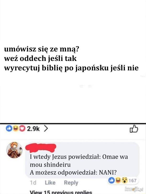 Tak było w bibli