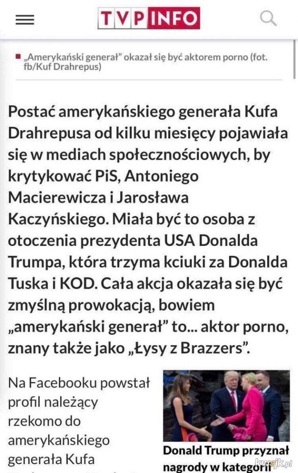 Wiadomość dnia w TVP Info